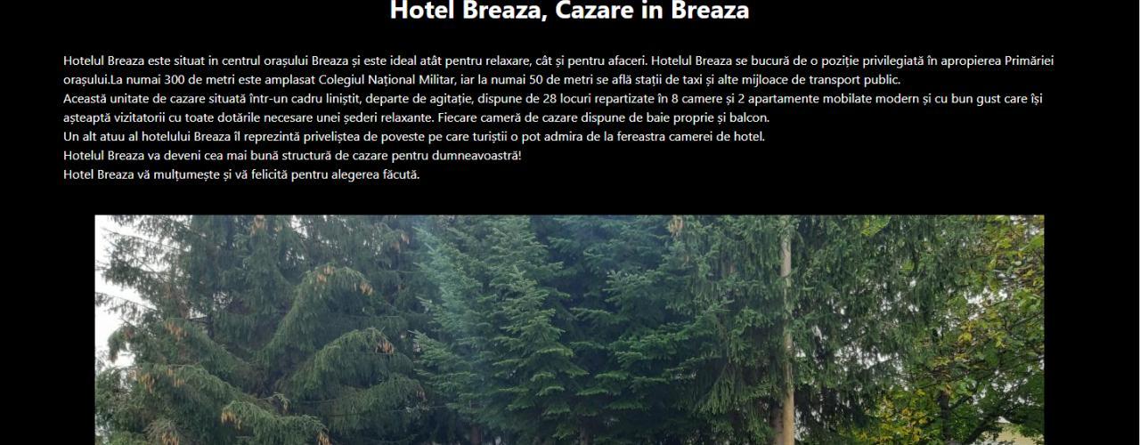 Creare Site De Hotel Sau Pensiune