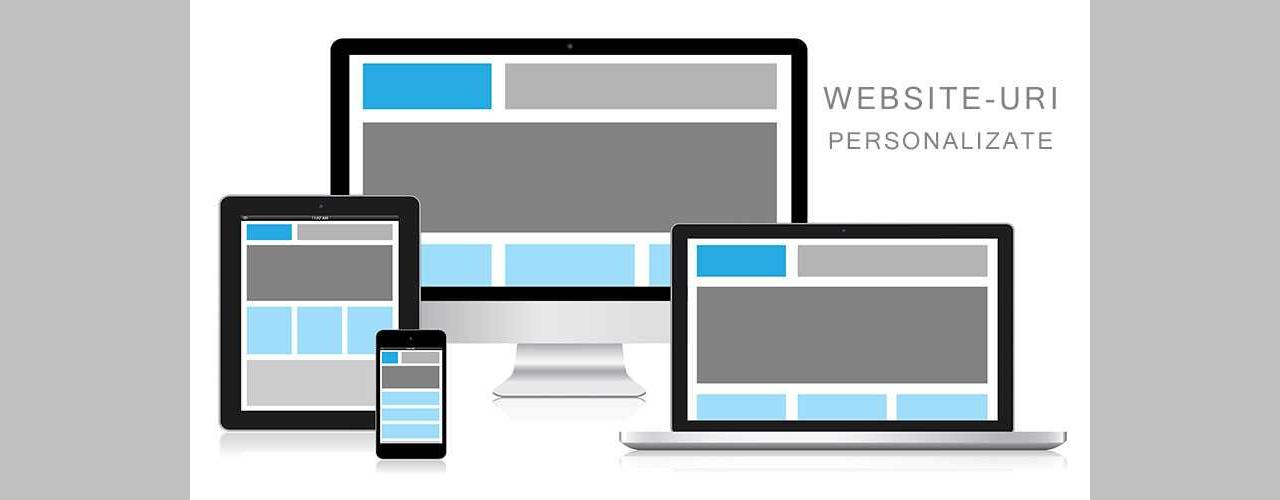 Creare Site Personalizat